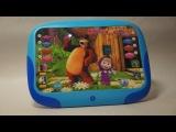 3D говорящий планшет Маша и Медведь! Все дети от него в восторге